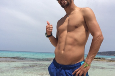 Fabio Fognini in costume su Instagram