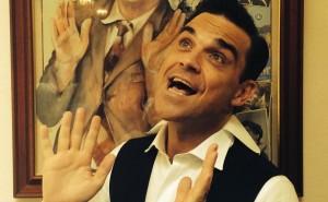Robbie Williams in mutande su Twitter