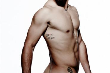 Fabio Fognini nudo su Cosmopolitan – la foto