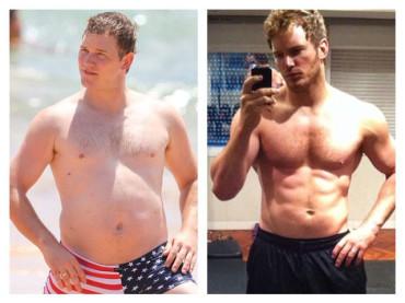 Chris Pratt e la trasformazione: da grasso a palestrato – 4000 calorie e 8 litri d'acqua al giorno per 6 mesi