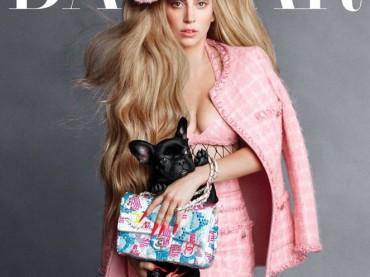 Lady Gaga show per Harper's BAZAAR – foto + dietro le quinte video