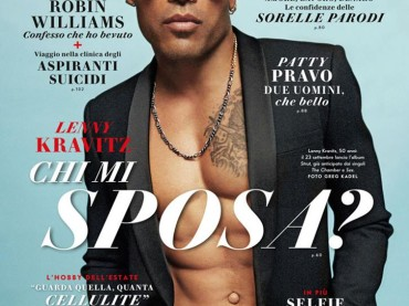 Lenny Kravitz bomba sexy con The Chamber – teaser video + cover Vanity Fair