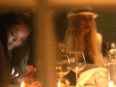 Rihanna e Christina Aguilera a cena insieme: duetto in arrivo?