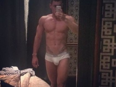 Claudio D'Alessio in mutande su Instagram
