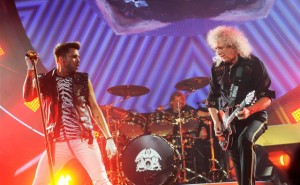 Queen + Adam Lambert perform at United Center, Chicago, Ill. 6/19/14