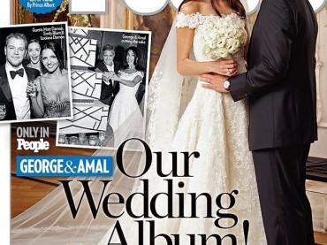 George Clooney e Amal Alamuddin sposi: le prime foto ufficiali del matrimonio