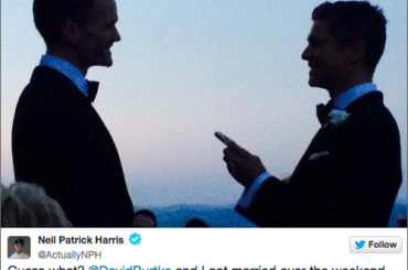 Neil Patrick Harris ha sposato David Burtka a PERUGIA