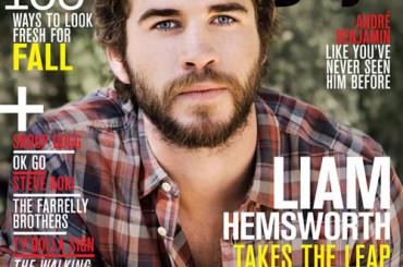 Liam Hemsworth versione 'muscle bear' su Nylon Guys