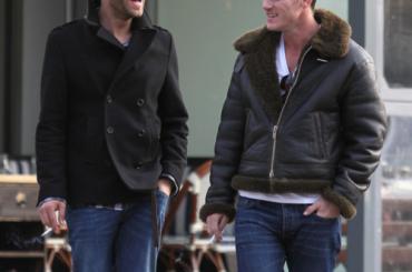 Jon Kortajarena e Luke Evans stanno insieme?