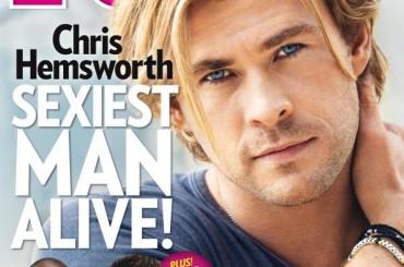 People sentenzia: Chris Hemsworth è l'uomo più sexy del mondo