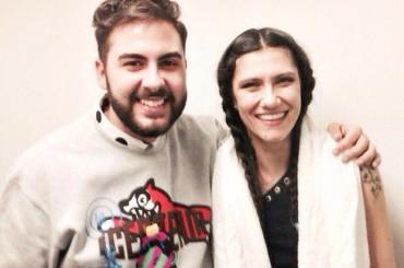 Andrea Faustini duetta con Elisa in concerto – i video