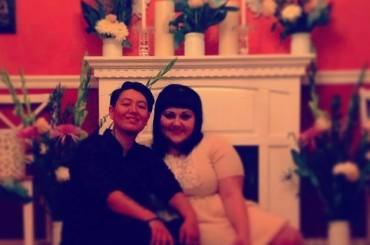 Beth Ditto ha sposato Kristin Ogata, questa volta legalmente