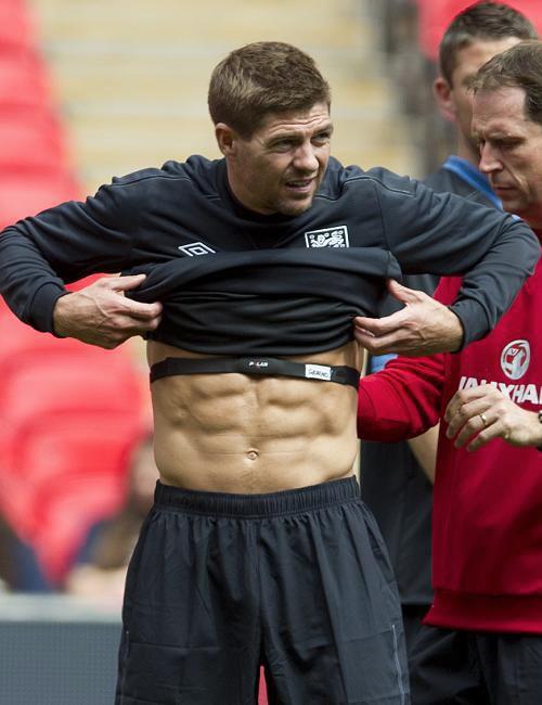 Liverpool news: Steven Gerrard's glittering Liverpool ... |Steven Gerrard Muscle