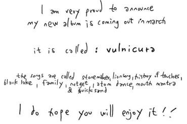 Vulnicura, nuovo album di Bjork: la tracklist