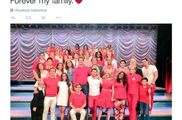 Glee, le ultime foto dal set dopo 6 stagioni