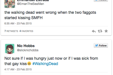 The Walking Dead gay, esplode l'omofobia su Twitter alla scena del bacio tra Eric ed Aaron
