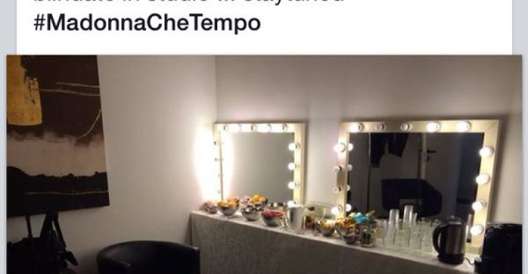 Madonna a Che Tempo che Fa live con Devil Pray and Ghosttown – quasi mezz'ora di intervista – 21 novembre UNICA tappa a Torino