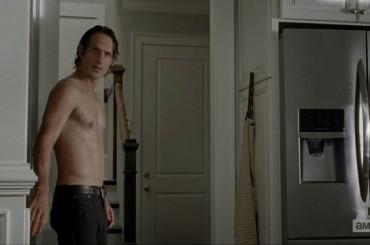The Walking Dead, Andrew Lincoln aka RICK gnocco senza barba