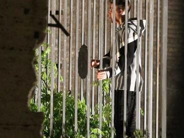 Justin Bieber a Roma, le prime foto dal set in esclusiva