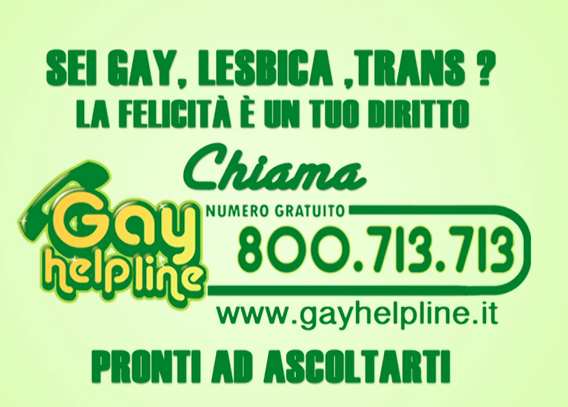 from Axel gay help line