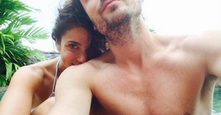 Ian Somerhalder bono su Instagram