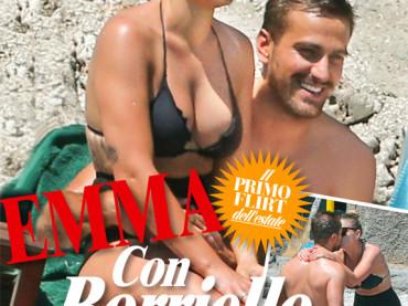 Emma Marrone e Fabio Borriello, weekend di passione a Capri su CHI