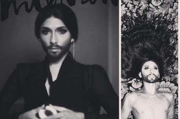 Conchita Wurst su Rolling Stone e Interview Magazine