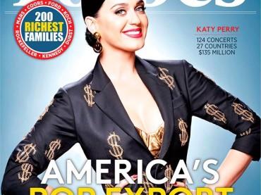 Forbes incorona Katy Perry: è lei la donna che più ha guadagnato negli ultimi 12 mesi