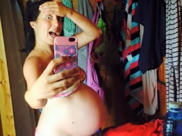 Pamela Petrarolo incinta, panza da record – foto