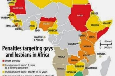 Un arcobaleno accoglie OBAMA in Etiopia dopo aver parlato dell'omofobia africana