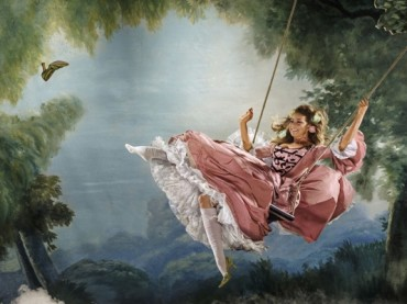 Katy Perry come Elizabeth Taylor e Mariah Carey come Maria Antonietta per Harper's Bazaar