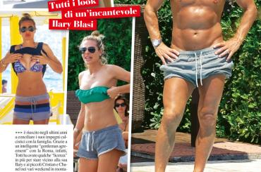 Francesco Totti, prime foto in costume del 2015