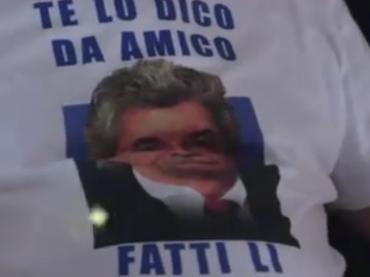 Antonio Razzi sul palco del GAY VILLAGE, ma che c'azzecca?