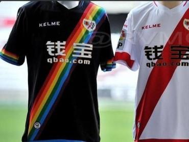 Rayo Vallecano, maglia contro l'omofobia