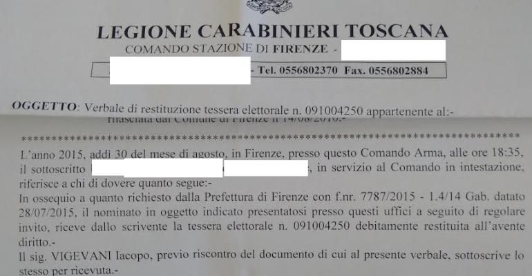 'Egregio Presidente Mattarella', aveva restituito la tessera elettorale per protesta e così (non) gli ha risposto il Quirinale