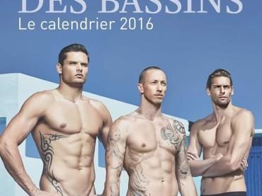 IDOLES DES BASSINS 2016, arriva il calendario dei nuotatori francesi – copertina e dietro le quinte