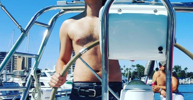 Emile Hirsch orsetto nella prima foto Instagram