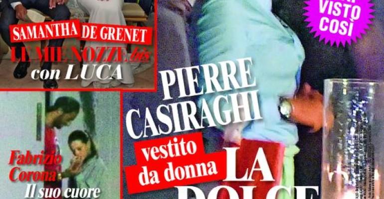 Pierre Casiraghi DRAG QUEEN su Chi