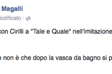 Tale e Quale Show, Giancarlo Magalli ha detto NO ad un duetto con Cirilli nell'imitare  Paola e Chiara