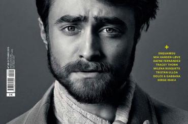 Daniel Radcliffe bonaccione barbuto su Icon