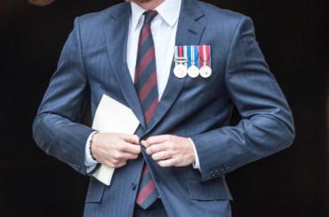 Principe Harry, pacco reale per il rosso d'Inghilterra – foto