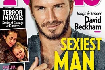 David Beckham è l'uomo più sexy del mondo – parola di PEOPLE