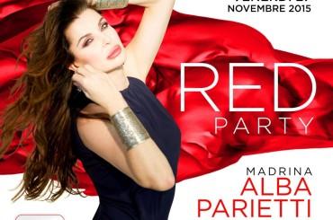 World Aids Day 2015, Muccassassina Red Party – Alba Parietti madrina