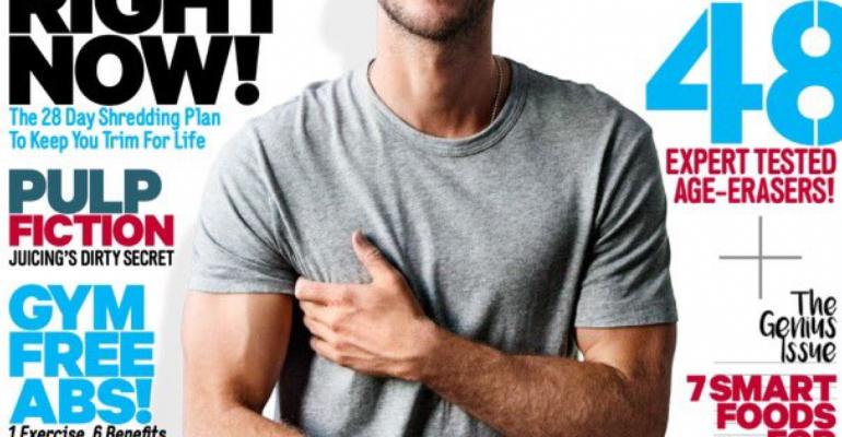 Liam Hemsworth, bicipiti in mostra su Men's Health