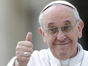 """Papa Francesco: """"I gay hanno il diritto ad una famiglia, sì alle unioni civili"""""""