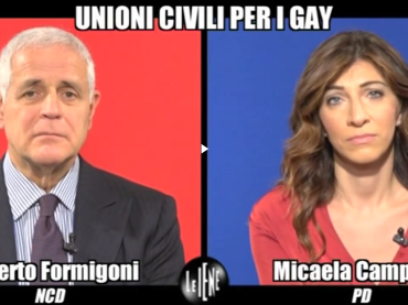 #UnioniCivili, intervista doppia Formigoni-Campana a Le Iene – video