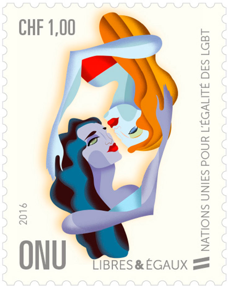 UN Free & Equal Stamps series