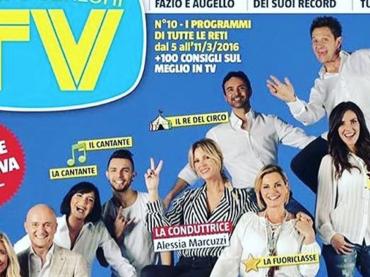 Isola 2016, la copertina di Tv Sorrisi e Canzoni con i primi 10 naufraghi