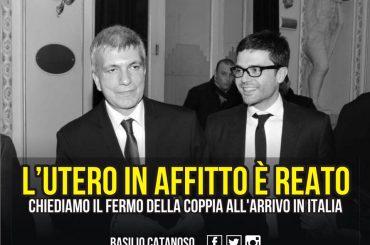 Nichi Vendola padre, il deputato di FORZA ITALIA Basilio Catanoso ne chiede l'ARRESTO