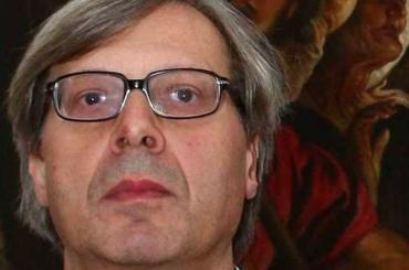 Vittorio Sgarbi: non può  essere figlio di Vendola, quello nato. Dal culo non esce niente